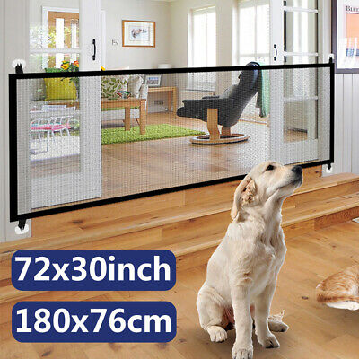 Portable Folding Safety Magic Gate Guard Mesh Fence Net for Pets Dog Puppy Cat Mesh Pet Gate