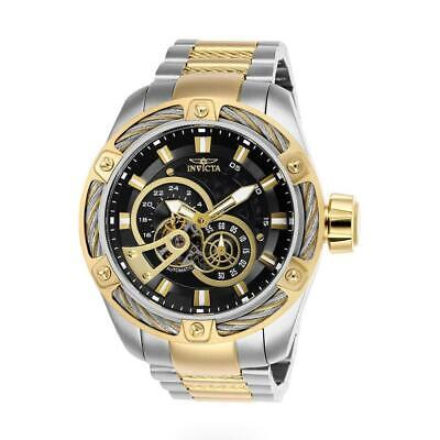 Invicta Bolt 26777 Men's Two-Tone Gold/Silver Cable Bezel AutomaticWatch