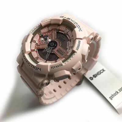 Women's Casio G-Shock Pink Analog Digital Watch GMAS110MP-4A1
