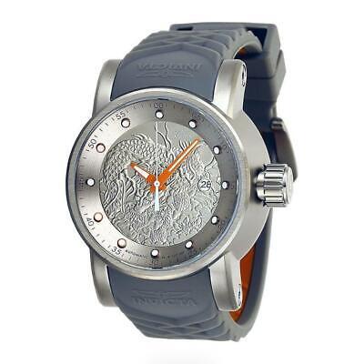 Invicta S1 Rally 28185 Men's Titanium Color Automatic Dragon Motif Watch