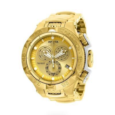 Invicta Subaqua Noma V 27677 Men's Gold Tone Chronograph Date Analog Watch