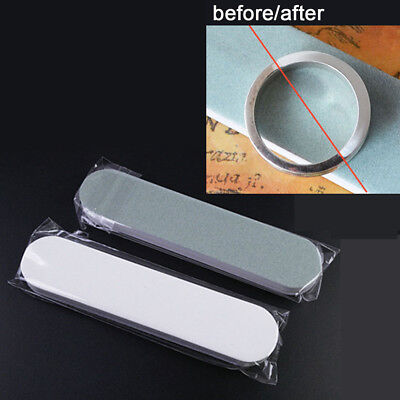 2pcs Silver Polishing Cleaner Stick Jewelry Cleaning Anti-Tarnish 2-Side Tools