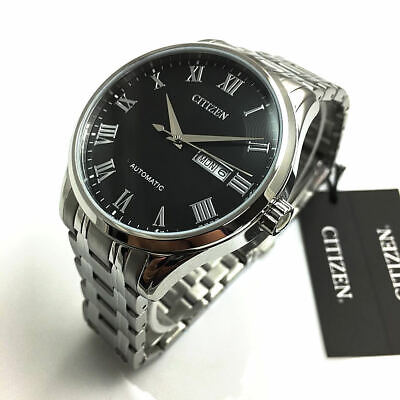Men's Citizen Automatic Stainless Steel Watch NH8360-80E