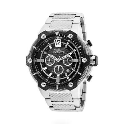 Invicta Bolt 27303 Men's Stainless Steel Cable Grey Bezel Chronograph Watch