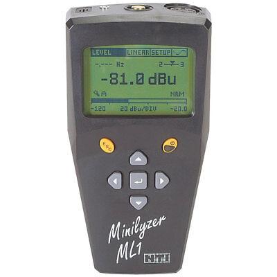 - NTi Audio ML1 Minilyzer Handheld Audio Analyzer