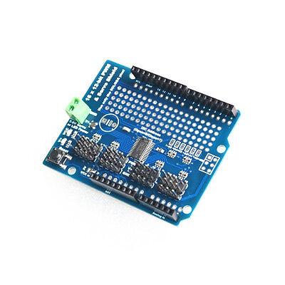 16 Channel 12-bit Pwm Servo Drive Shield Board -i2c Pca9685 For Arduino S