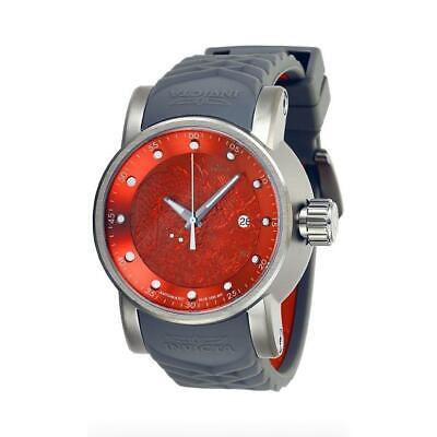 Invicta S1 Rally 28184 Mens Titanium Color Automatic Date Dragon Motif Watch