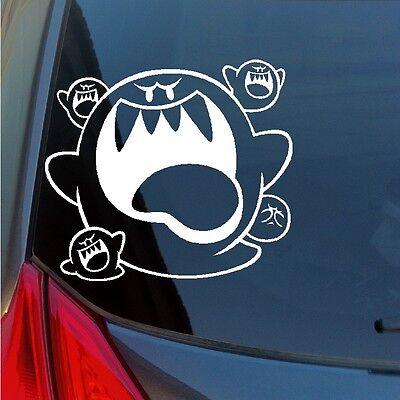 Big Brother Sticker - Super Mario Bros Big Boo ghosts vinyl sticker decal game nintendo laptop truck