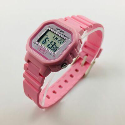 Women's Casio Digital Pink Resin Watch LA20WH-4A1 LA-20WH-4A1CF