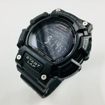 Men's Casio Digital Black Tough Solar Watch STLS110H-1B2 (Solar Casio Watches For Men)