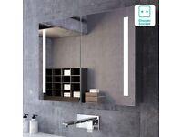 Illuminated LED Mirror Cabinet - 600x800mm