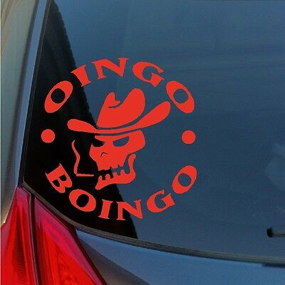 Oingo Boingo vinyl sticker decal Halloween Meadows Elfman dead man's party KROQ (Home Decorations Halloween)