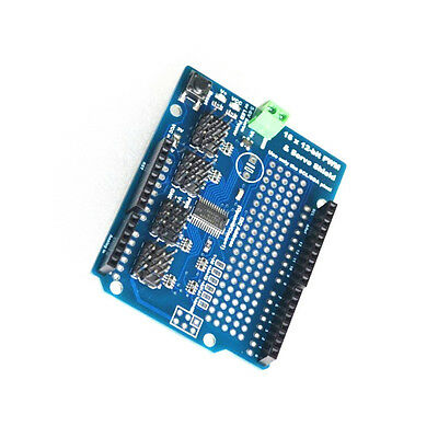 16 Channel 12-bit Pwm Servo Drive Shield Board -i2c Pca9685 For Arduino M