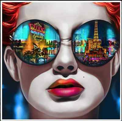 3D POP ART  LAS VEGAS SUNGLASSES