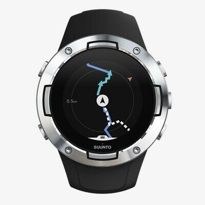 Suunto 5 Black Steel Watch - SS050445000
