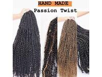 Hair dresser - Braids - Afro Caribbean hair.