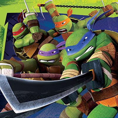 Teenage Mutant Ninja Turtles Papier Party-Servietten Taschentücher 1-120pk