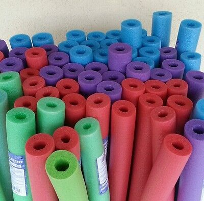 Lot 8 x Noodle Swimming Pool Noodle therapy water floating foam random colors.