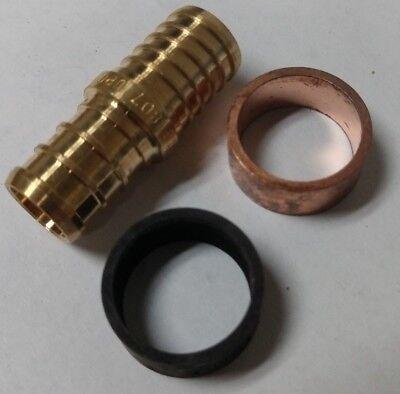 5 12 Pex X Pb Polybutylene Splicing Repair Kit Coupling Crimp Rings