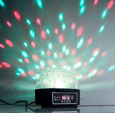 迪斯科dj舞台灯光rgb水晶魔法球效果灯dmx512数字led