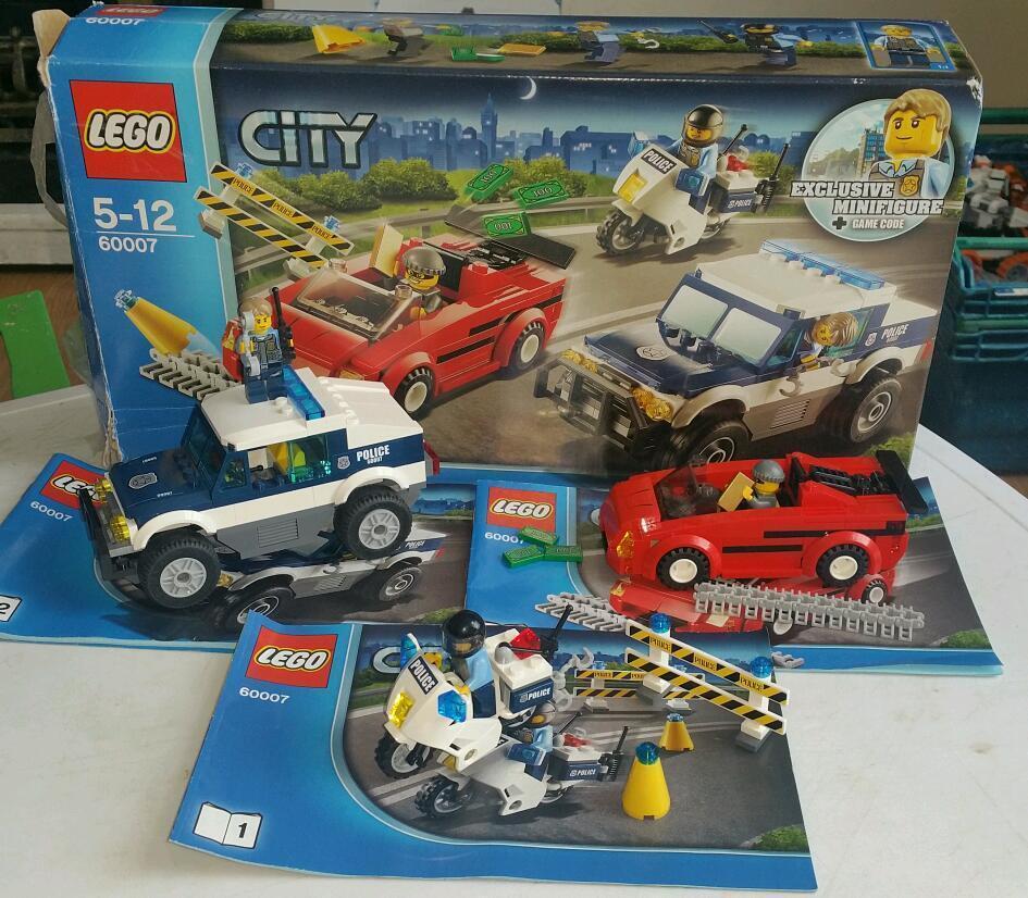 Lego city police chase 60007 set | in Llanelli, Carmarthenshire ...