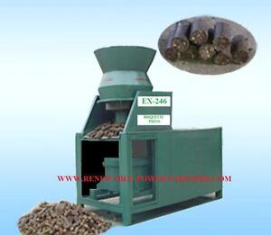 BRIQUETTE-PRESS-MACHINE-Biomass-Straw-Manure-Energy-From-Waste-FOC-Delivery