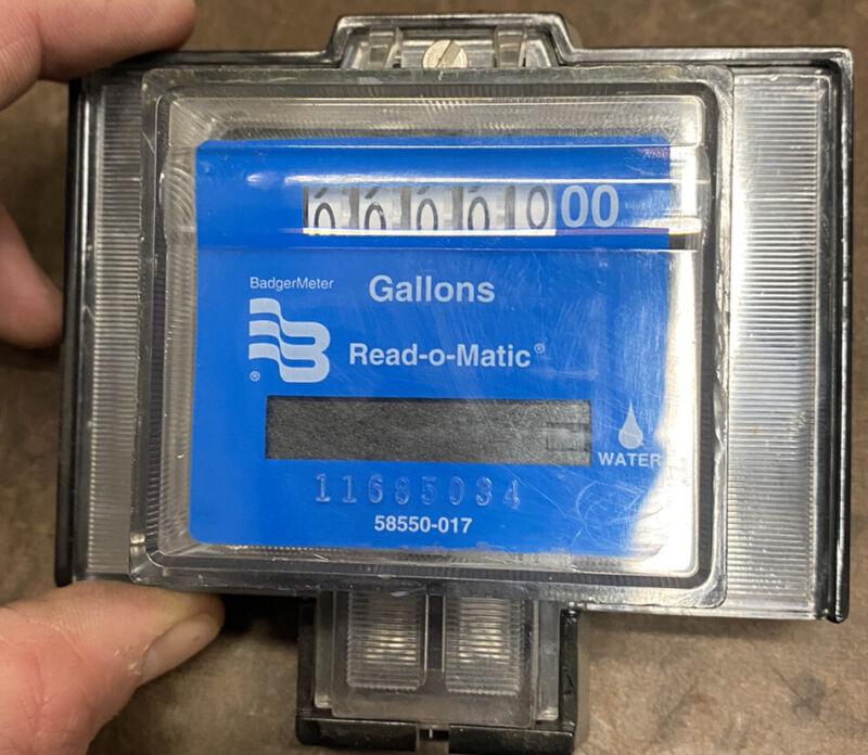 "Badger Water Meter Pulse Remote 5/8-1"" Us Gallon"