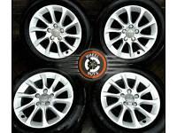 "16"" Genuine Audi VW alloys, 3 SETS TO CHOOSE, excellent cond, premium tyres."