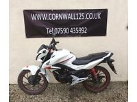 Honda CB 125 F 125cc 2016 Learner Legal Just Serviced