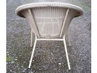 1950's / 60's Lloyd Loom Circular Chair. Collectable and Vintage Chic.