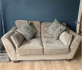 Barker and Stonehouse Medium and Small sofa with cushions