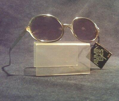 NOS vtg Foster Grant Alumineyes polarized sunglasses glasses USA John Lennon