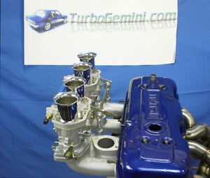 Gemini Twin Reproduction Weber 44IDF carbs & Manifold kit 44 IDF carbys  Rodeo