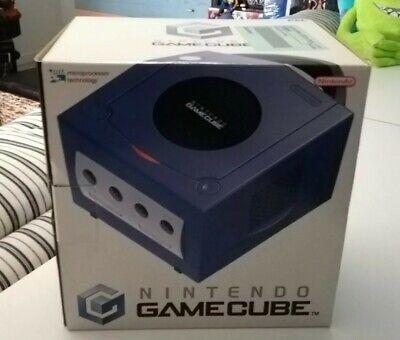 Lotto Nintendo Gamecube 1Ed Con Controller Joypad Pad Giochi Viola Nuova