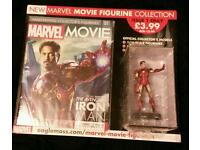 Eaglemoss marvel avengers issue 1 model sculpt iron man