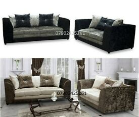 Best selling crushed velvet sofas