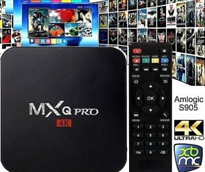 MXQ PRO 4K BOX Quad-Core Android 7.1 SMART TV-BOX Media Player