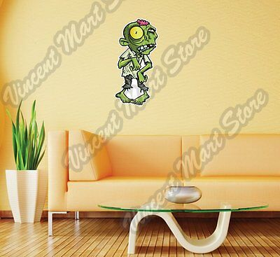 Zombie Outbreak Monster Dead Gift Idea Wall Sticker Room Interior Decor - Zombie Decorations Ideas