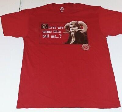 bcab7aac4 Monty Python And The Holy Grail Liquid Blue Men''s Tim T-Shirt New XXL