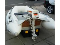 Quicksilver 250LX inflatable boat