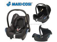 Maxi-Cosi Cabriofix Baby Car Seat & FREE babyview mirror cosi cosy maxy cozi