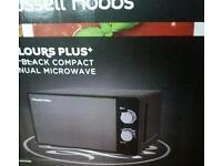 Brand new Russell hobbs microwave