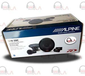 Alpine-SPR-50C-5-25-600W-2-Way-Component-Car-Audio-Speaker-System