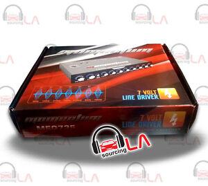 CADENCE MEQ-735 7 BAND GRAPHIC PRE AMP CAR AUDIO STEREO EQUALIZER EQ