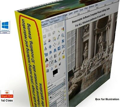 Used, Photo photography image editing software - CS6 for windows XP 7 10 32 & 64 bit., for sale  Shipping to South Africa