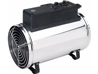 Biogreen PHX 2.8/GB Phoenix Electric Fan Heater 1.0/ 1.8 /2.8KW Greenhouse heater/cooler