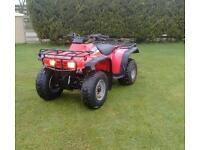 Honda Quad big red new brakes/tyres 2wd