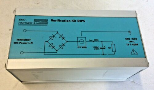 VERI-DIPS Circuit For Inrush Current Measurement EMC PARTER