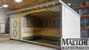 Horse Shelters (Maetche Construction)