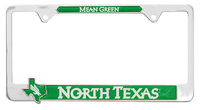 University of North Texas Metal License plate frame for sale  Fort Worth